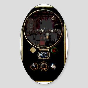 Farnsworth Communicator Sticker (Oval)