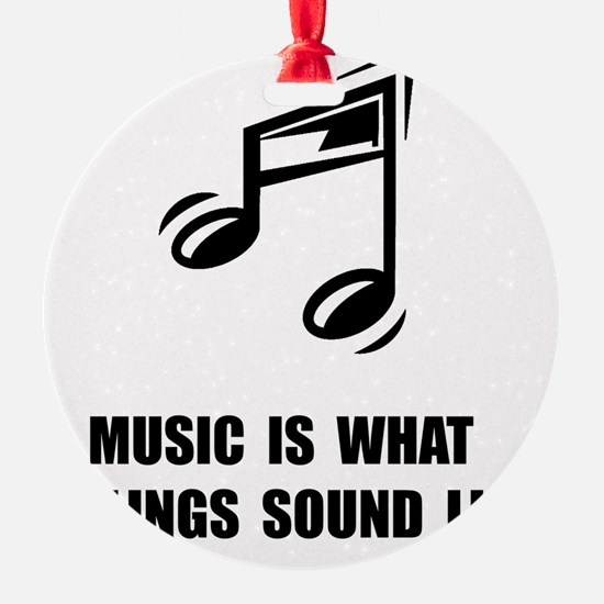Music Feelings Ornament