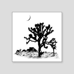 "Joshua Tree National Park Square Sticker 3"" x 3"""