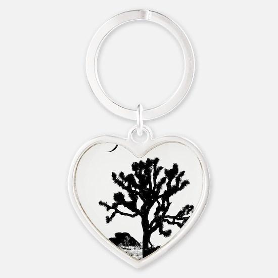Joshua Tree National Park Heart Keychain