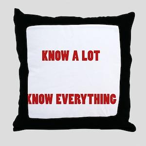 Grandpas Know Everything Throw Pillow