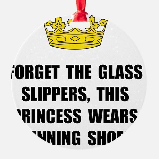 Princess Run Ornament