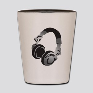 Headphones Shot Glass