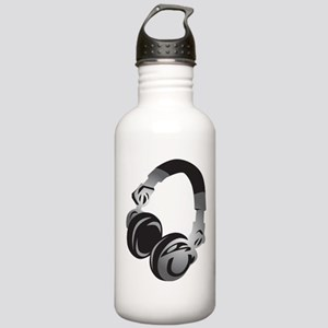 Headphones Water Bottle