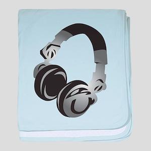 Headphones baby blanket
