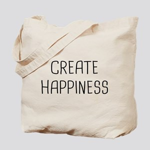 Create Happy Tote Bag