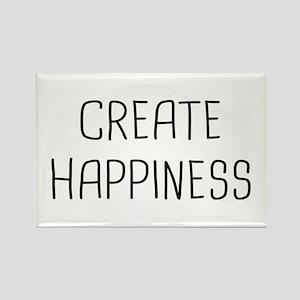 Create Happy Rectangle Magnet