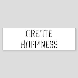 Create Happy Sticker (Bumper)