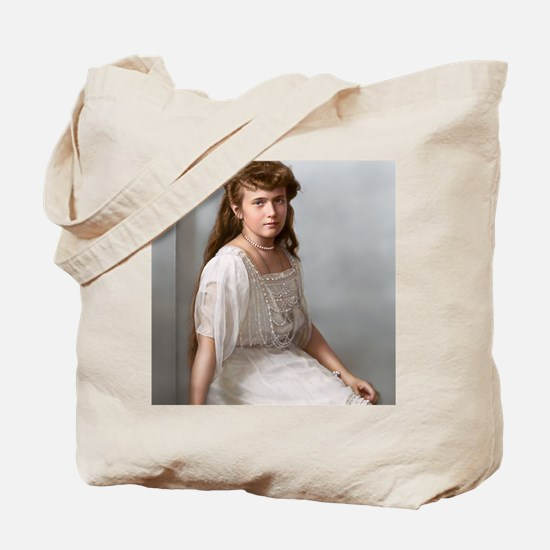 14X10_FramedPrint-Large-anastasia Tote Bag