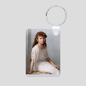 23X35-LG-Poster-anastasia Aluminum Photo Keychain