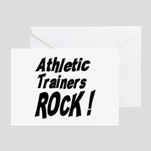Athletic Trainers Rock ! Greeting Cards (Package o
