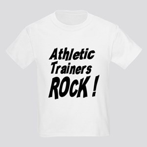 Athletic Trainers Rock ! Kids Light T-Shirt