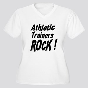 Athletic Trainers Rock ! Women's Plus Size V-Neck