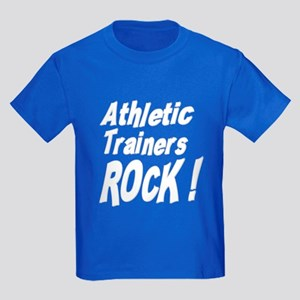 Athletic Trainers Rock ! Kids Dark T-Shirt