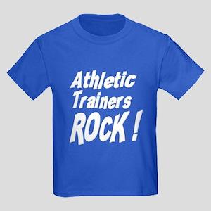 Athletic Trainers Rock ! Kids Dark T-Shirt