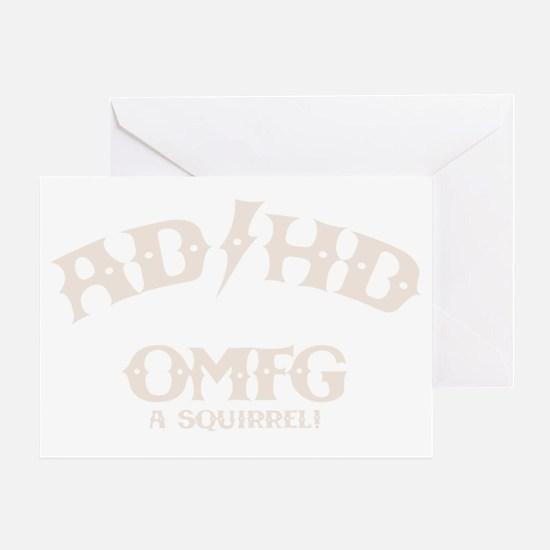 ad-hd-omfg-DKT Greeting Card