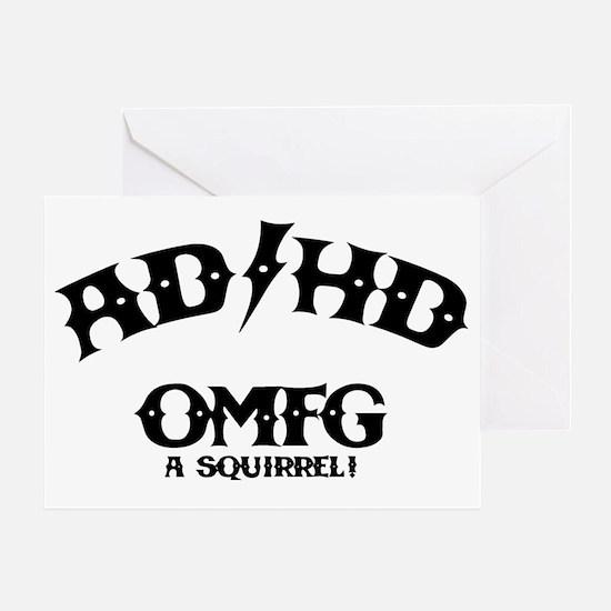 ad-hd-omfg-LTT Greeting Card