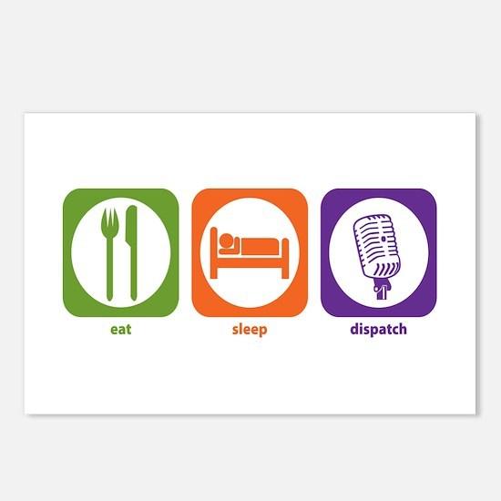 Eat Sleep Dispatch Postcards (Package of 8)