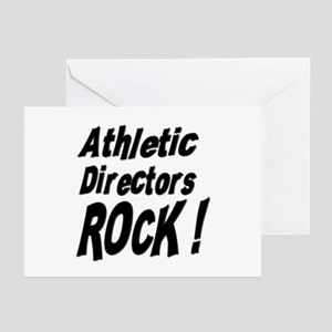 Athletic Directors Rock ! Greeting Cards (Package