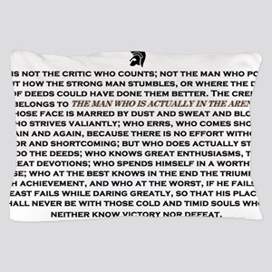 Man in the Arena Pillow Case