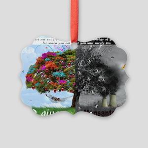 God Given Monsanto Driven Picture Ornament