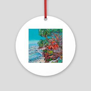 Paradise Found Round Ornament
