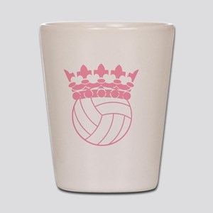 Volleyball Princess Shot Glass