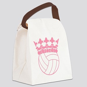 Volleyball Princess Canvas Lunch Bag