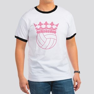 Volleyball Princess Ringer T