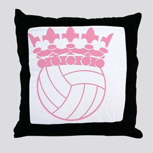Volleyball Princess Throw Pillow