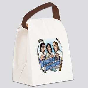 Put On The Foil! Canvas Lunch Bag