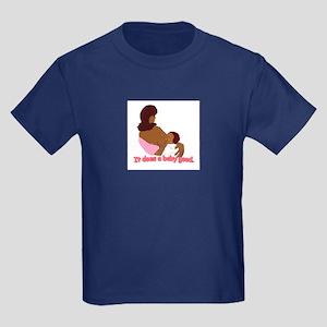 Breastfeeding: It does a baby Kids Dark T-Shirt
