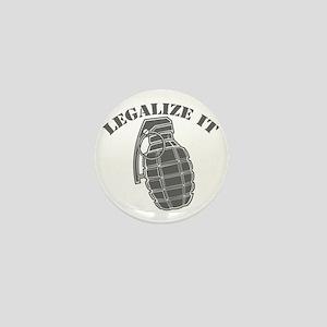 Legalize It - Grenade Mini Button