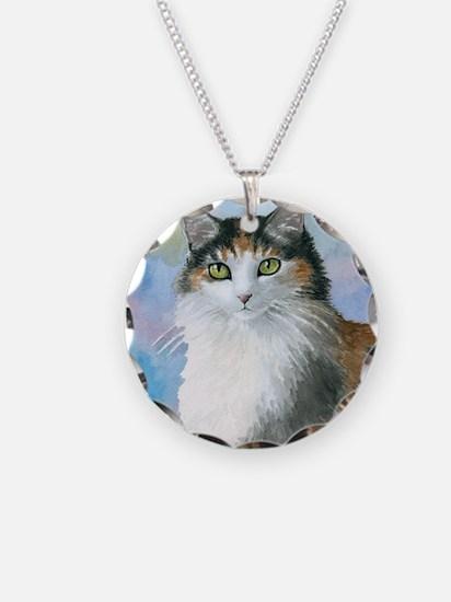 Cat 572 Calico Necklace