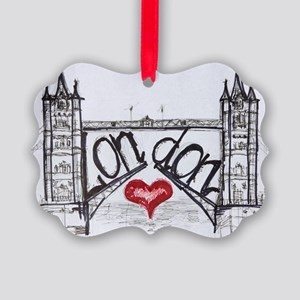 London with love Picture Ornament