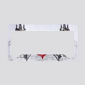 London with love License Plate Holder
