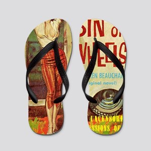 Sin On Wheels Flip Flops