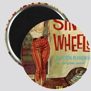 Sin On Wheels Magnet