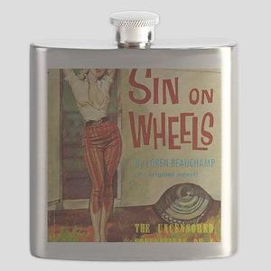 Sin On Wheels Flask