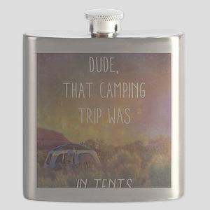 Camping Trip Flask