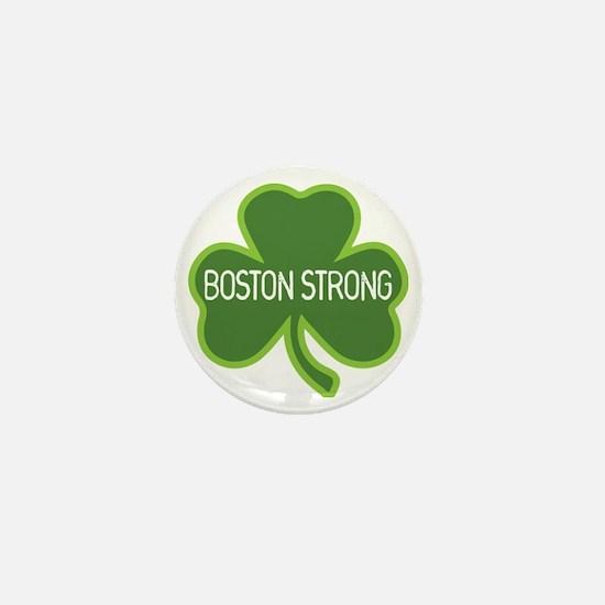 Boston Strong Shamrock Mini Button