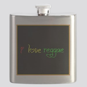 I love reggae Flask
