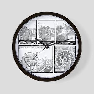 Notre Dame Wall Clock