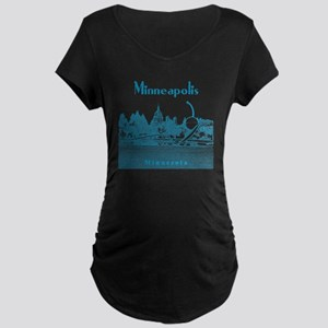 Minneapolis_10x10_Spoonbrid Maternity Dark T-Shirt