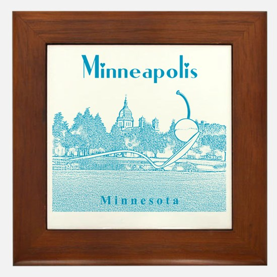 Minneapolis_10x10_SpoonbridgeAndCherry Framed Tile