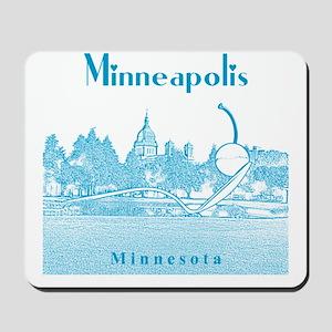Minneapolis_10x10_SpoonbridgeAndCherry_v Mousepad