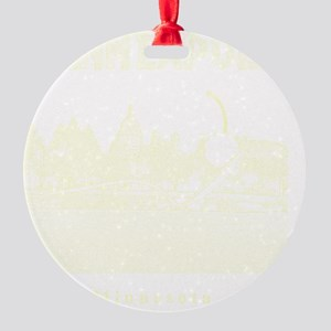 Minneapolis_12x12_Spoonbridge  Cher Round Ornament