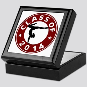 Class Of 2014 Gymnastic Keepsake Box