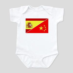 Adopt Flags Spain Infant Bodysuit