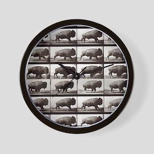 Tiny Buffalo Wall Clock